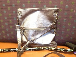 silver 3-way bag by the sam