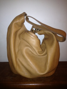 avorio italian leather hobo