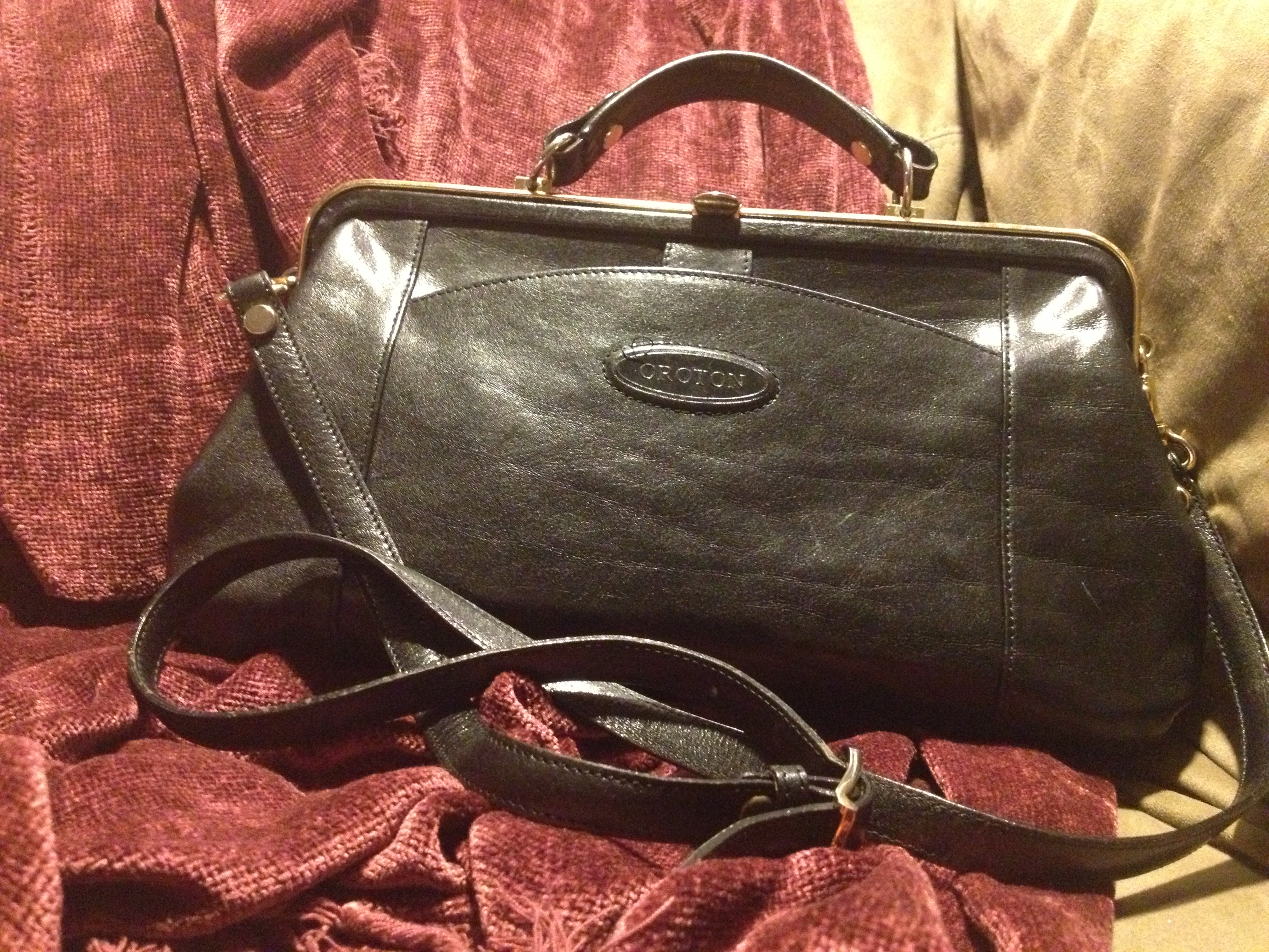 vintage Oroton frame purse 61b97da0519ea