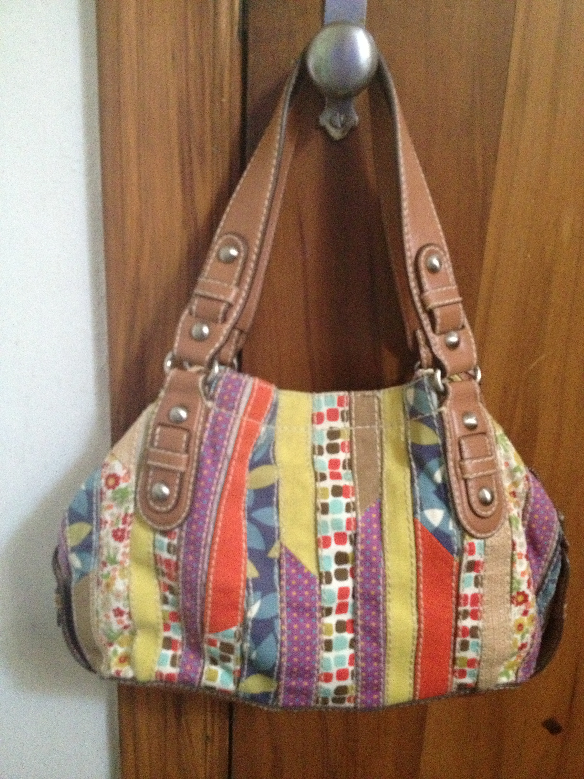 fossil striped canvas bag eb92ee0298701