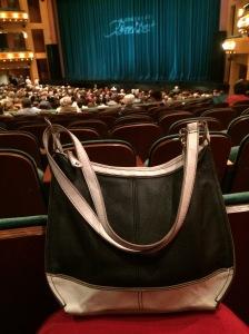 Saturday, May 9, 2015 Tignanello spectator at the ballet with Jaiya
