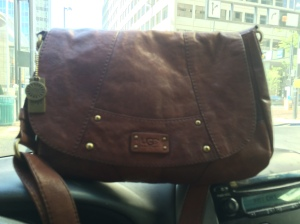 Thursday May 14, 2015 UGG saddlebag